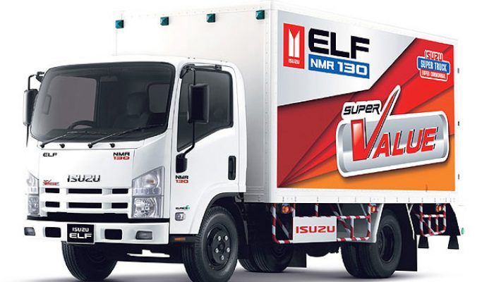 ISUZU ELF NHR 55 BOX